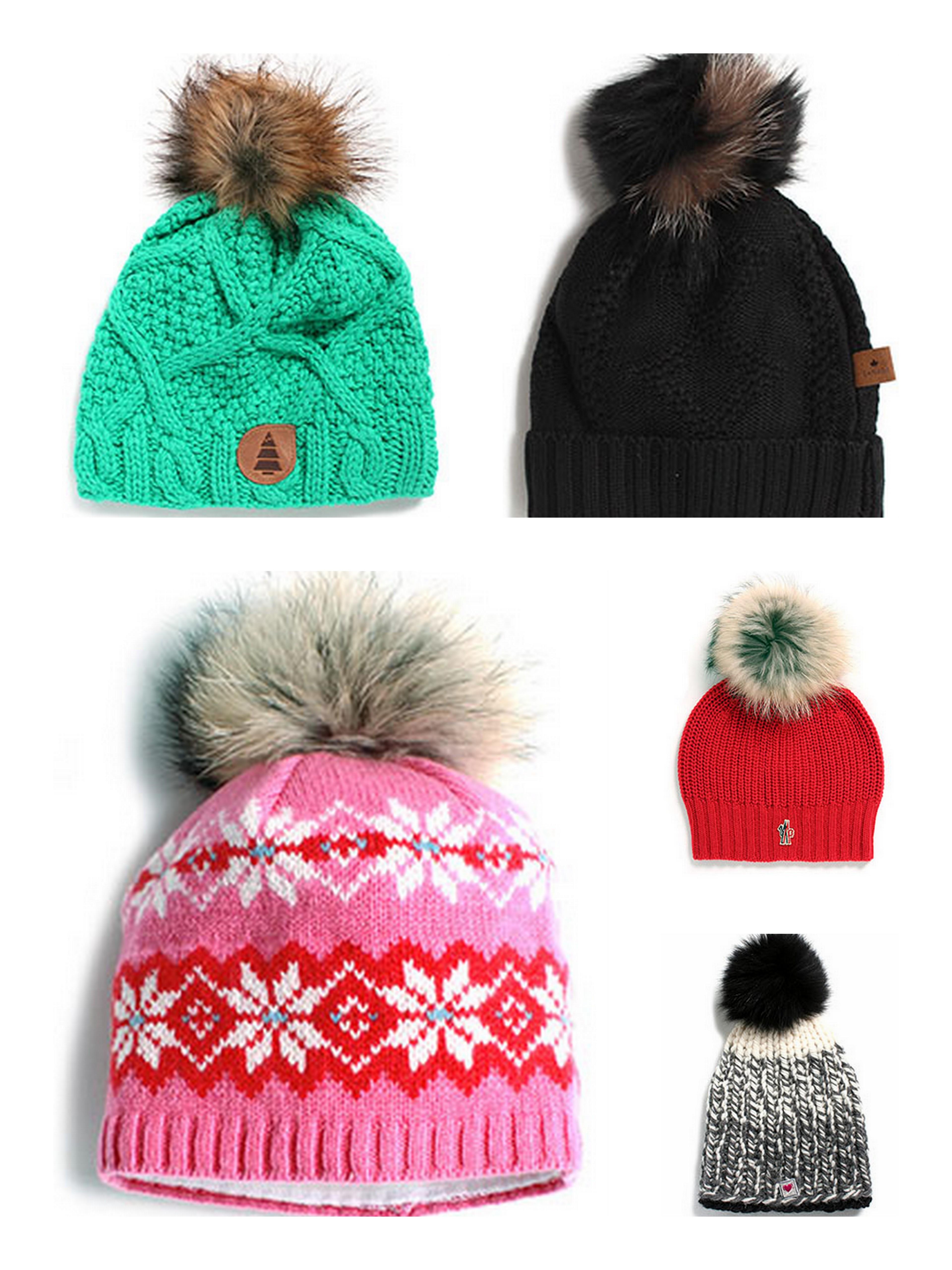 54bb78a50c0 Fur PomPoms- EVERYWHERE! – Estelle Yarns Blog