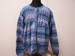 Sweater knit out of King Cole Splash