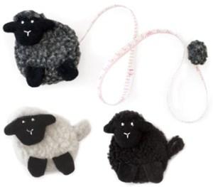 sheep tape measures