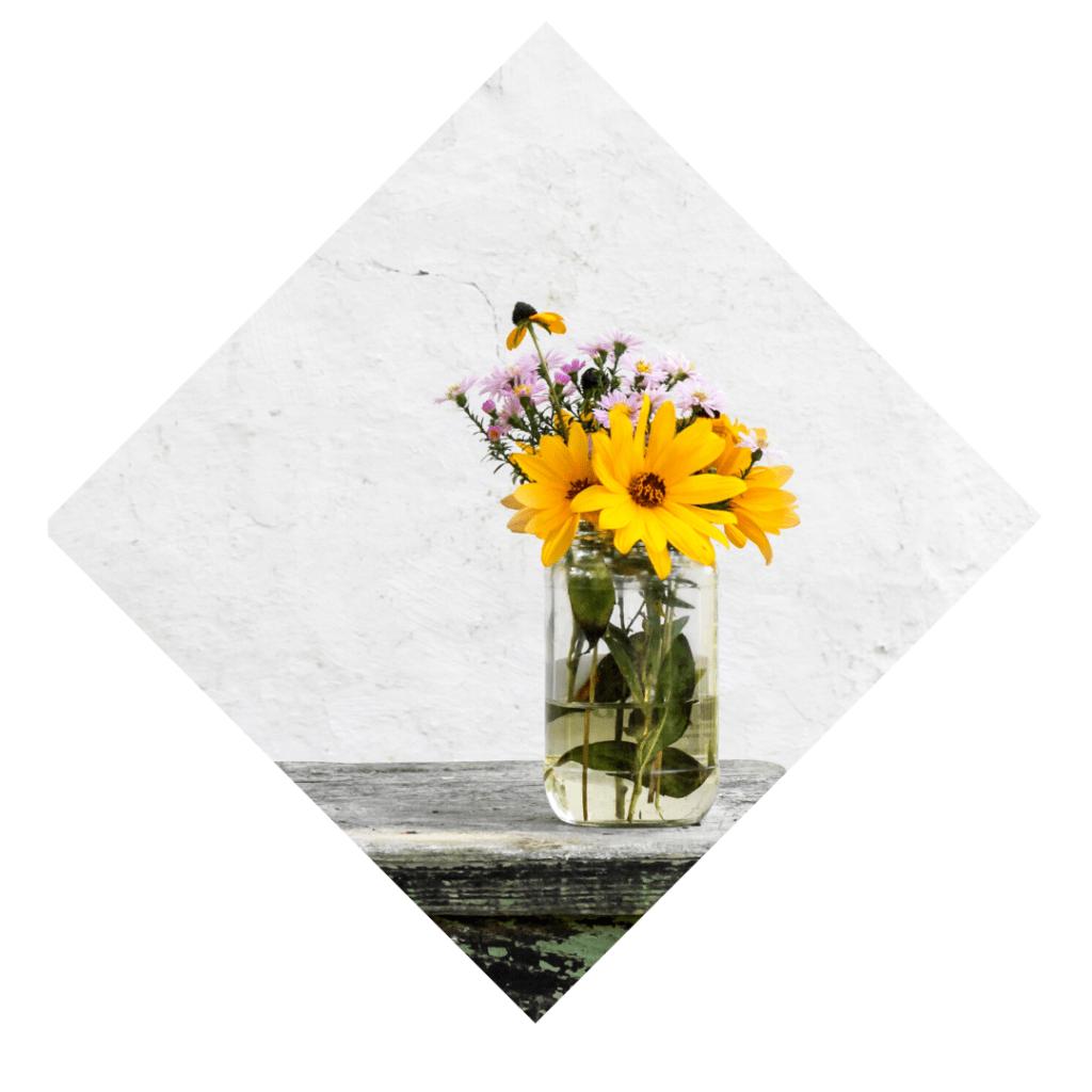 Blumenstrauß als Symbol für Wertschätzung