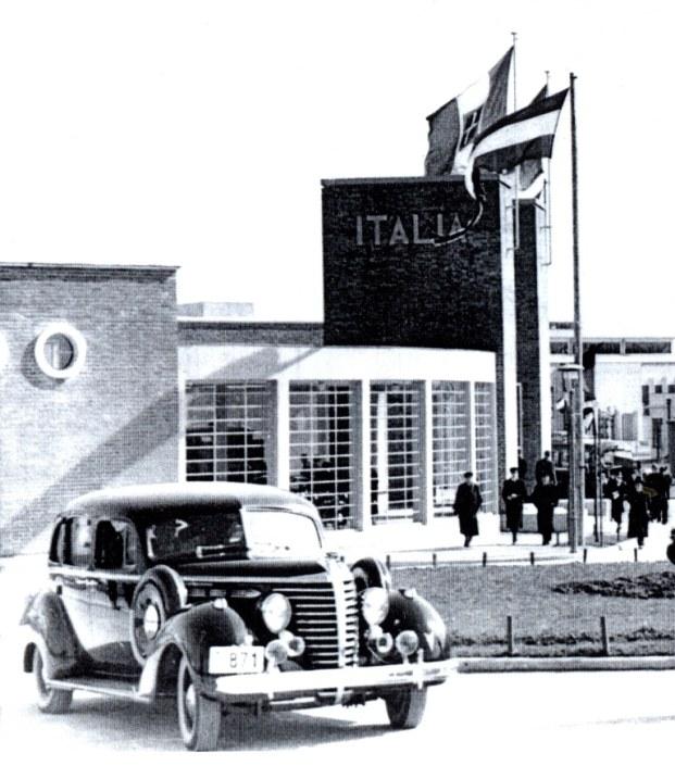 Italian pavilion - the Belgrade Fair (before WWII)