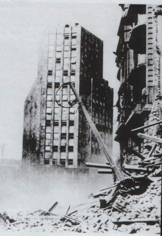 Belgrade after the bombing