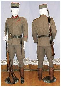 Gendarme uniform