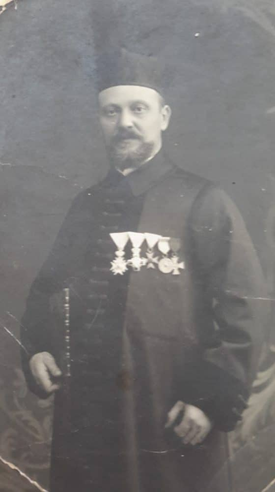 Belgrade rabbi Ignjat Šlang before WWII. Photo: Jewish Historical Museum, Belgrade