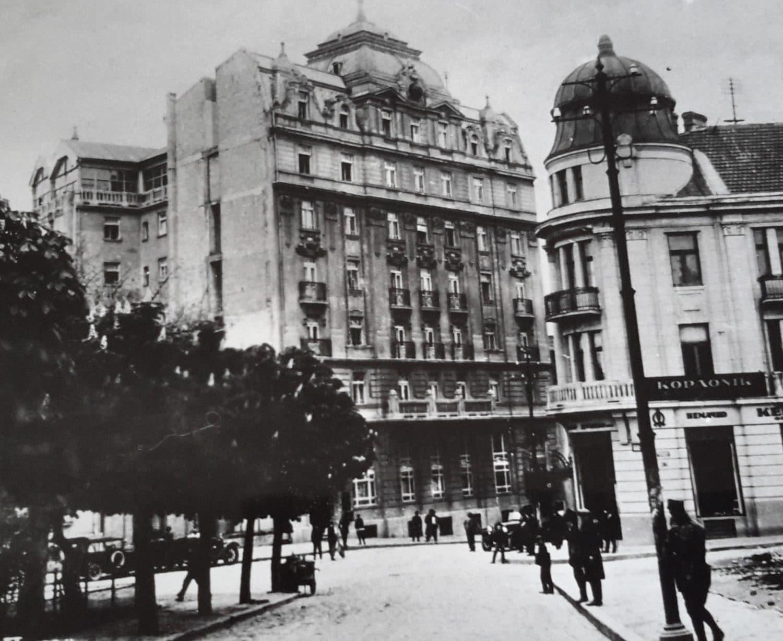 Leon Talvi, Palace Hotel Belgrade, Topličin Venac 23, 1924. Photo: Jewish Historical Museum, Belgrade