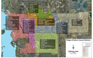 Village of Estero Council Districts