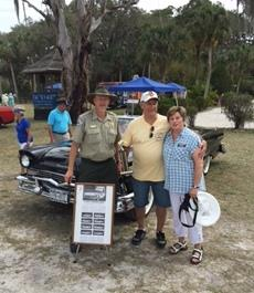 Councilmember Katy Errington represented the Village of Estero at the Classic Car Show held at the Koreshan State Historic Site on Saturday, March 5.