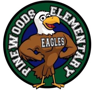 Pinewoods Elementary School Logo