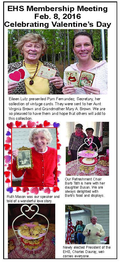 Membership meeting Feb. 8 Valentine