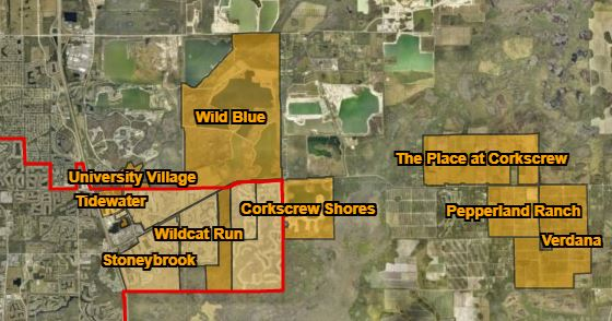 Residential Developments affecting the DR/GR