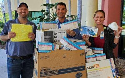 Estero High School donates to Lee Health