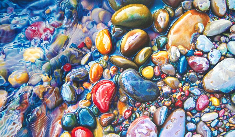 Colored Pebbles Sale