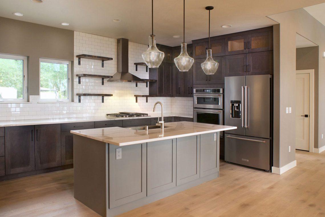 Modern Kitchens - Estes Builders
