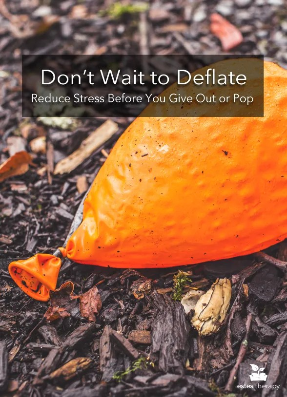 Reduce Stress Before You Give Out or Pop via @EstesTherapy. Stressed to the max? Ready to pop? DON'T. You can learn how to deal with stress and relieve some of your internal pressure. You don't have to freak out or meltdown. #stress #stressedout #dealwithstress #reducestress #mentalhealth