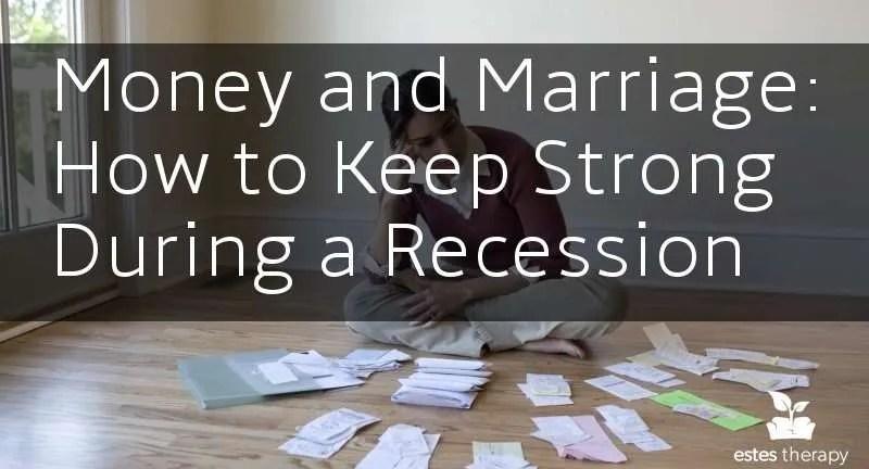 finances marriage money stress recession free dates
