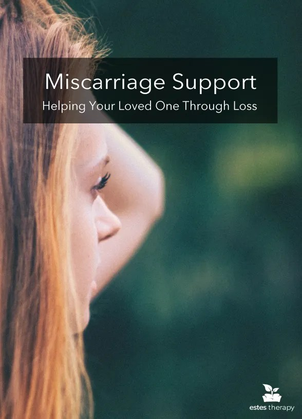 """Support Someone Through Miscarriage via @Estes Therapy 