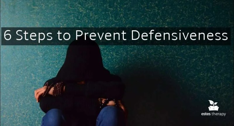 how to prevent being defensive defensiveness couples fighting arguments