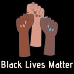 black lives matter we stand with you say their name people of color community