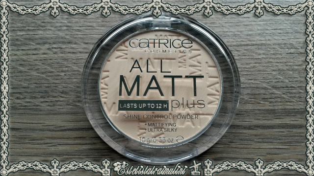 All Matt Plus Cipria ~ CATRICE COSMETICS