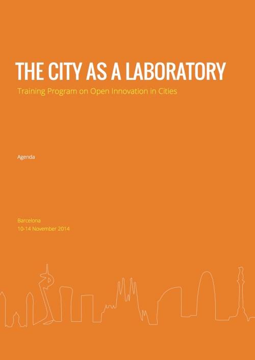 City As A Lab Agenda