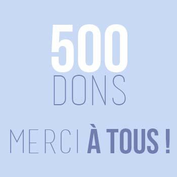 500 eme don