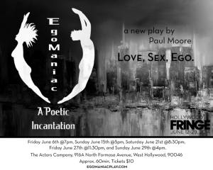 EgoManiac - A Poetic Incantation