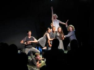 "World Premiere of ""EgoManiac: A Poetic Incantation"" at The Actors Company: Other Space Theatre. Hollywood Fringe Festival June, 2014"