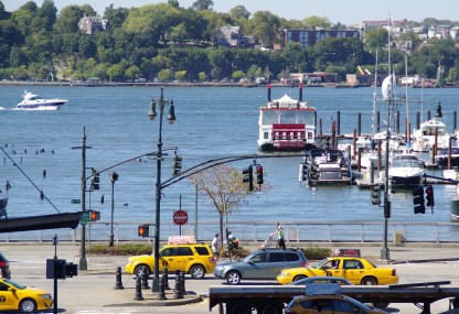 Hudson River depuis la High Line