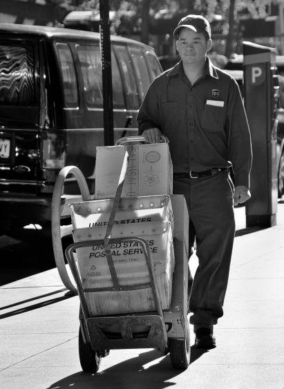 Livreur de paquets