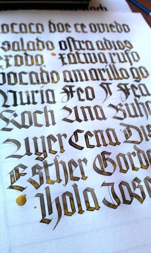 Curso Oriol'11 II, Rudolf Koch - segundo folio