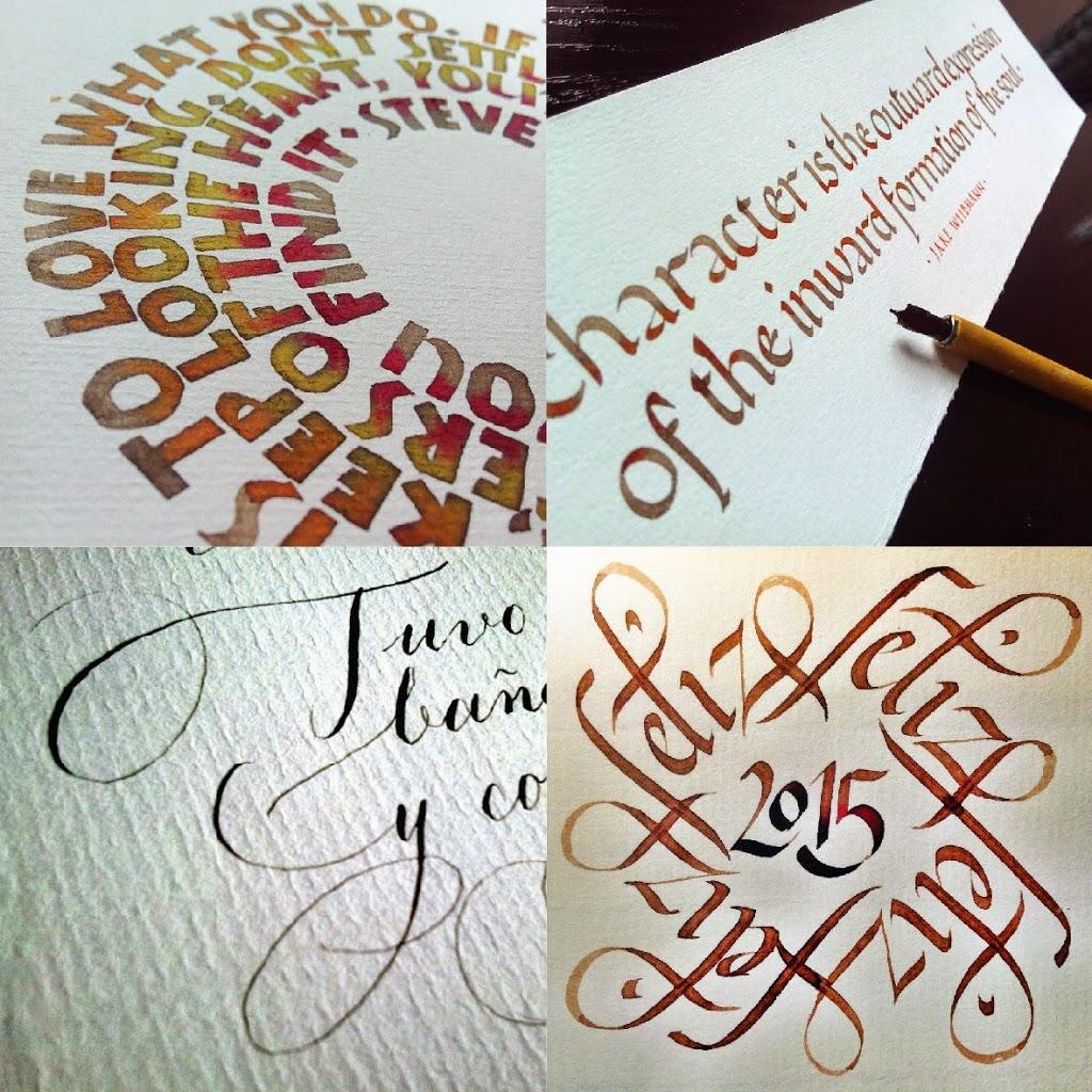Cursos de caligrafía