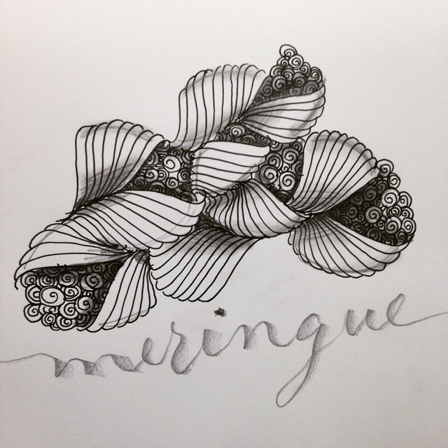 Caligrafía y Zentangle