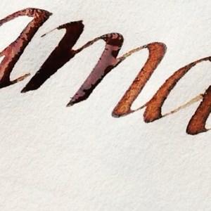 Curso caligrafía itálica, Esther Gordo