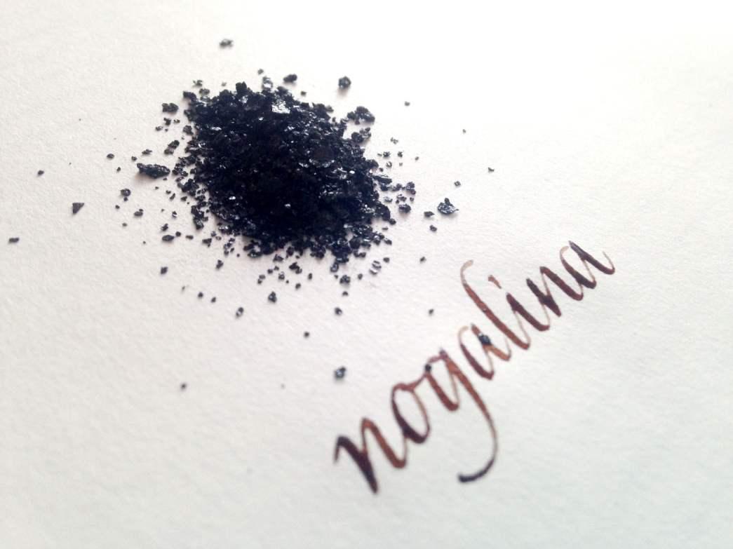 Desde cero: tintas para practicar caligrafía