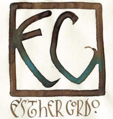 Logotipo Esther Gordo.