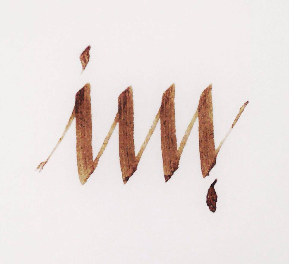 Image maker ambigrama caligrafia esther gordo