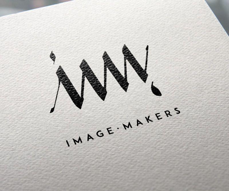 Logotipo monograma IM Image Maker