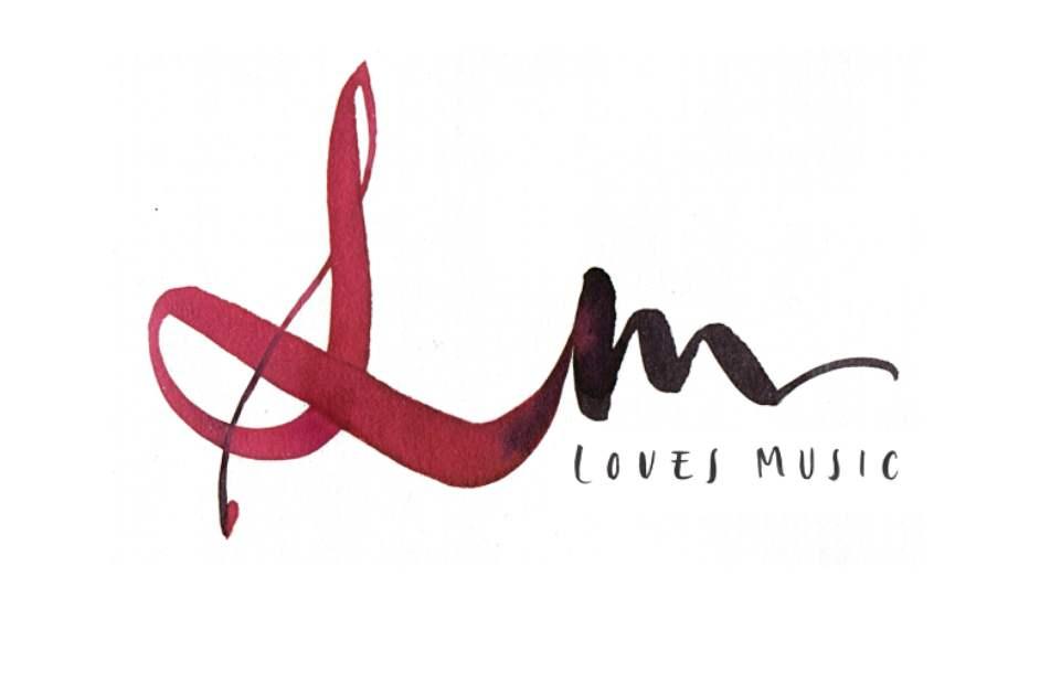Loves Music caligrafia Esther Gordo para el Portal desde La Ciudad sin Ley