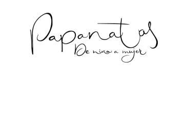 Logotipo caligrafiado Papanatas