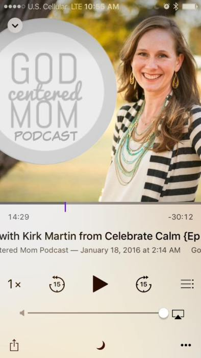 Listening to podcasts is one of my favorite methods of self-care. It helps me to take care of my spiritual wellness as a mom.