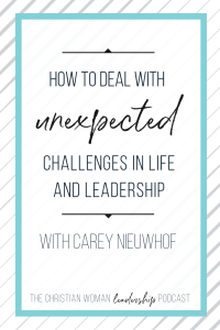 purpose, unexpected challenges, leadership