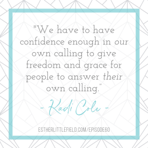 quote about women in leadership from Kadi Cole