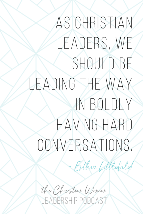 Why leaders need to have hard conversations