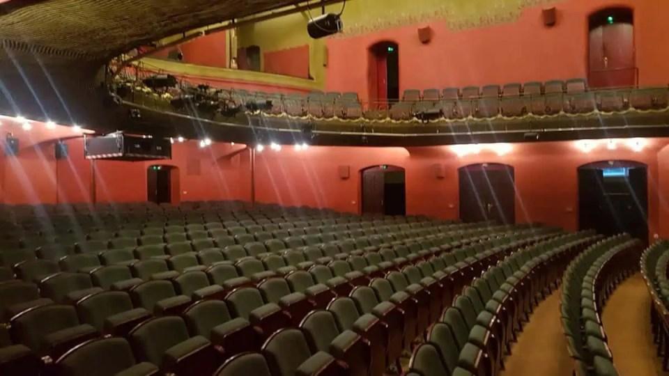 Teatro de Cámara de Múnich - Sala vacía
