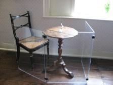 Jane Austen's writing table, Chawton.