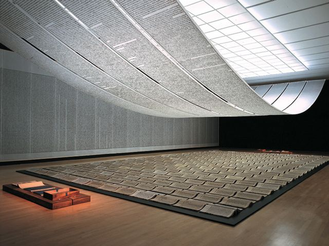 over book from the sky xu bing