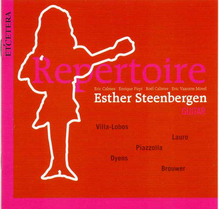 esther steenbergen trio repertoire