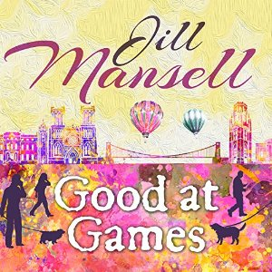 Esther Wane, a female British voice artist, narrates Good at Games Audibook by Jane Mansell