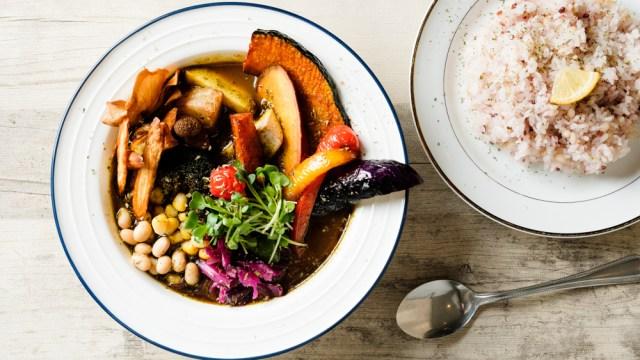 20種野菜のスープカレーCBD 1500円(税込)