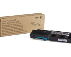high capacity toner cyan, 6000p for Phaser 6600, WorkCentre 6605